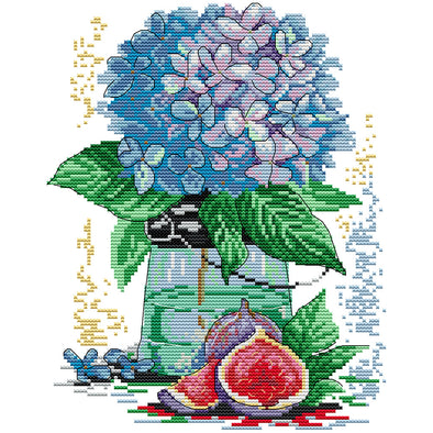 Flower - Cross Stitch - 26x31cm