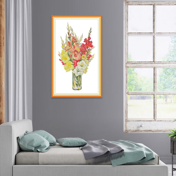 Four Seasons  - Cross Stitch - 34*55cm