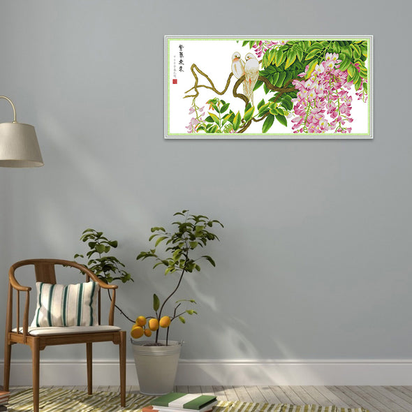 Purple Air from the East - Cross Stitch - 120*60cm