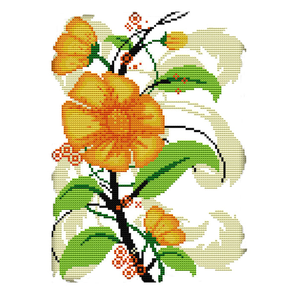 Sunflowers - Cross Stitch - 31x22cm
