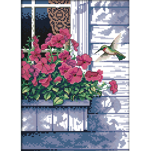 Hummer - Cross Stitch - 21x30cm