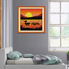 Sunset Duck  - Cross Stitch - 23*23cm