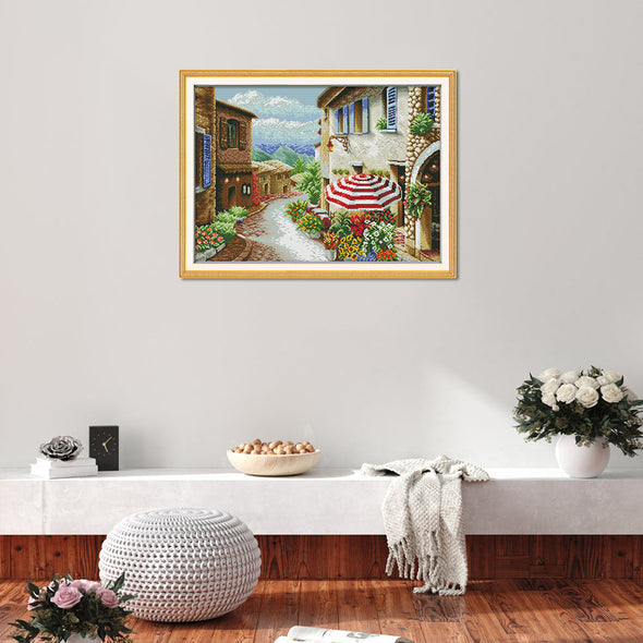 Street View - Cross Stitch - 61*46cm