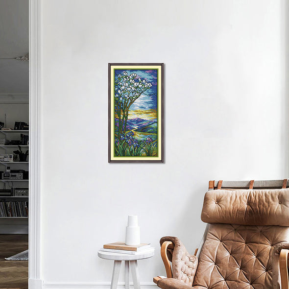 Scenery - Cross Stitch - 44x23cm
