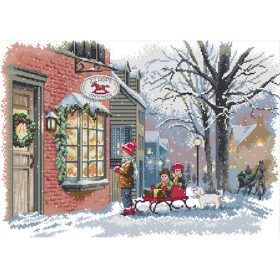 Christmas  - Cross Stitch - 50x37cm