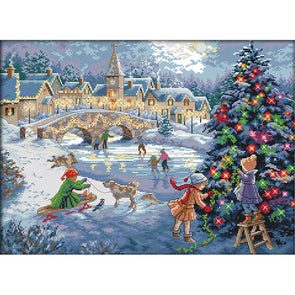 Christmas  - Cross Stitch - 52x40cm
