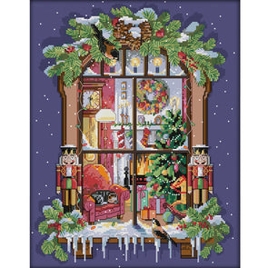 Christmas  - Cross Stitch - 35x44cm