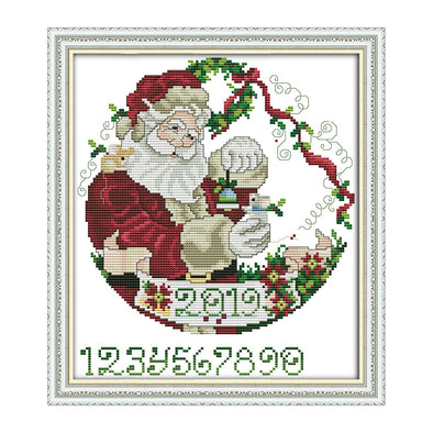 Santa Claus - Cross Stitch - 28*30cm