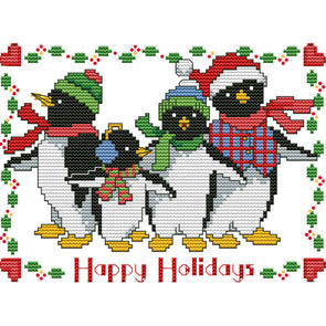 Xmas Animal - Cross Stitch - 25*18cm