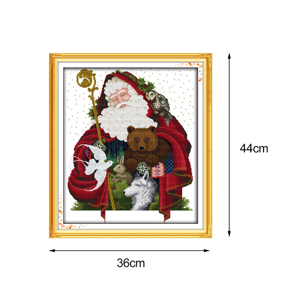 Christmas  - Cross Stitch - 44*36cm