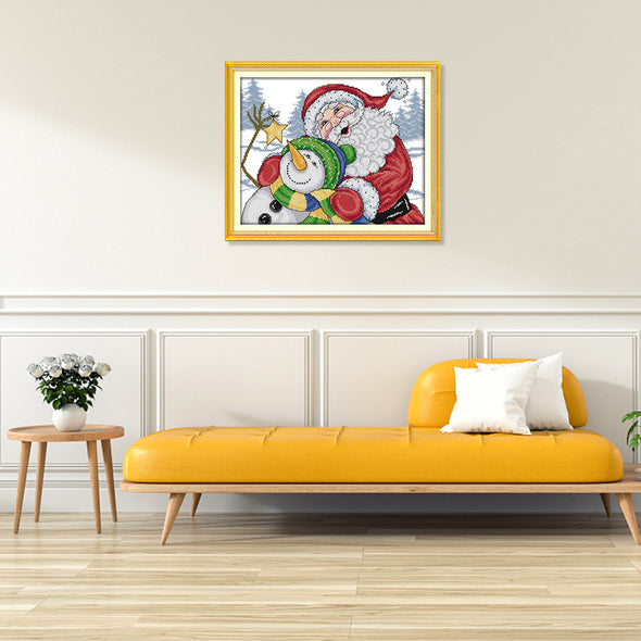 Christmas  - Cross Stitch - 34*29cm
