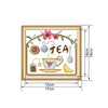 Morning tea time - Cross Stitch - 17*16cm