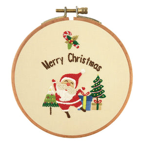 Christmas - Stamped Embroidery