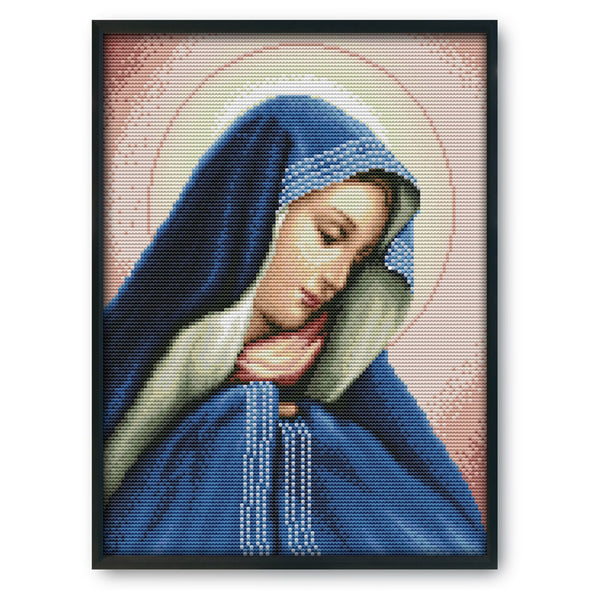 Our Lady - 14CT Stamped Cross Stitch - 30*29cm