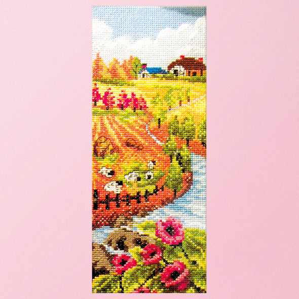 Blessings of autumn - 11CT Stamped Cross Stitch - 41*20cm