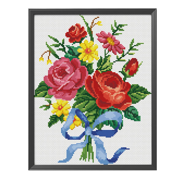 Gift - 11CT Stamped Cross Stitch - 33x40cm