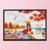 Autumn Date - 11CT Stamped Cross Stitch - 55x40cm