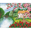 Wonderland Beauty - 11CT Stamped Cross Stitch - 54x45cm