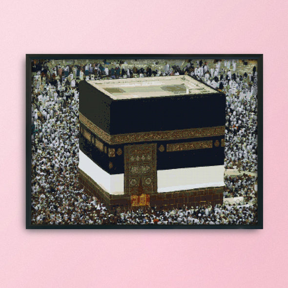 Hajj - 14CT Stamped Cross Stitch - 62x49cm