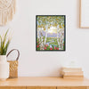 Summer In The Birch Forest - 14CT Stamped Cross Stitch - 49x58cm