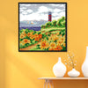 Summer - 14CT Stamped Cross Stitch - 29x29cm