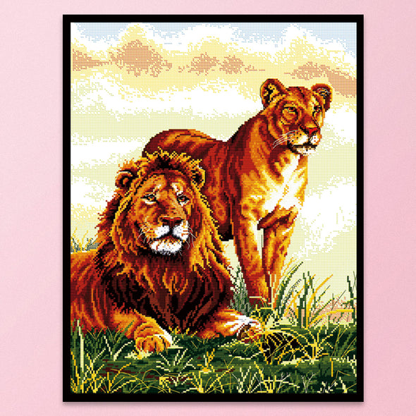 Follow - 14CT Stamped Cross Stitch - 41x51cm