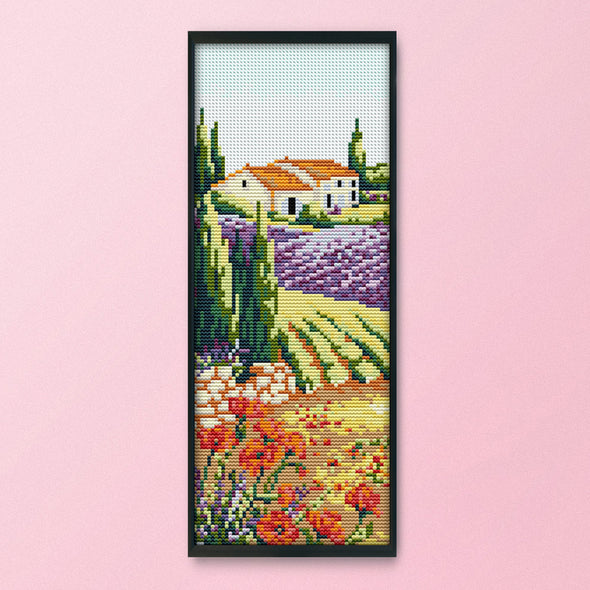 Autumn - 14CT Stamped Cross Stitch - 15x34cm