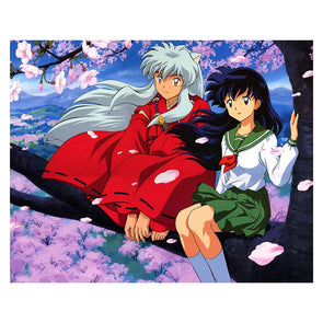 Inuyasha - 11CT Stamped Cross Stitch - 58x48cm
