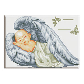 Baby Angel - 14CT Counted Cross Stitch - 36x46cm