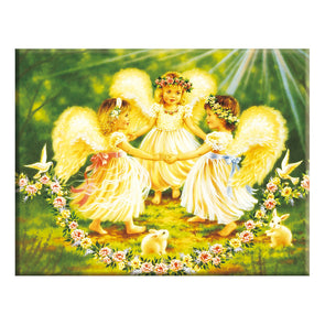 Baby Angel - 14CT Counted Cross Stitch - 46x56cm