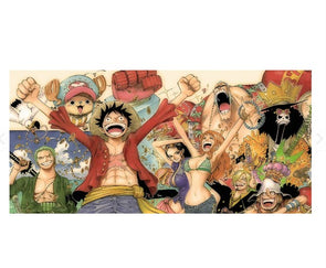 One Piece - 11CT Stamped Cross Stitch - 78x48cm