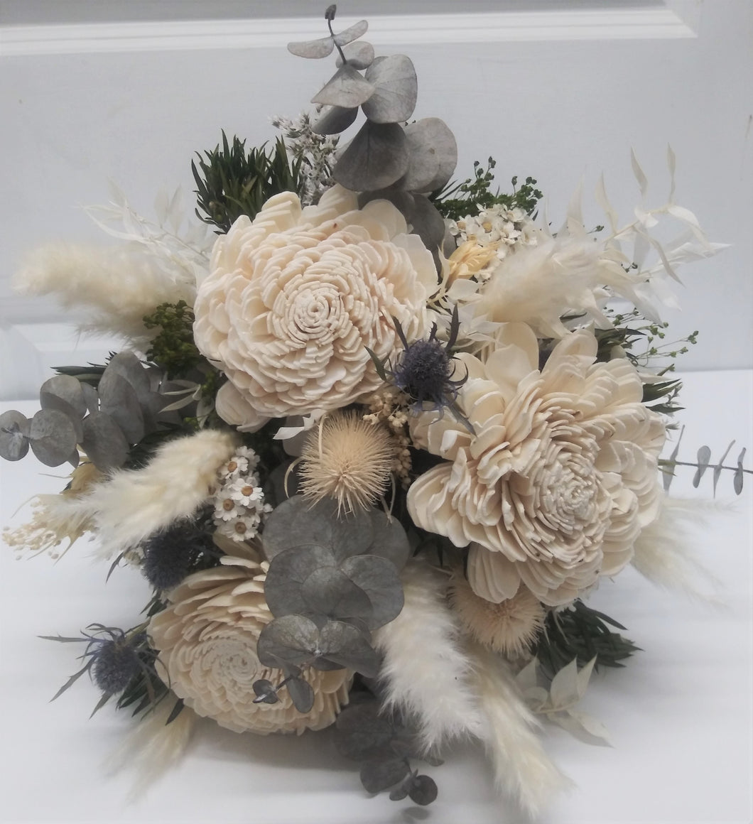 Preserved Delightful Dahlias Bouquet