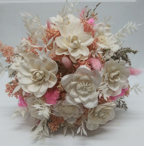 Preserved Pink Romance Bouquet