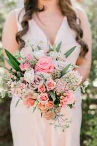 Positively Peachy Bouquet
