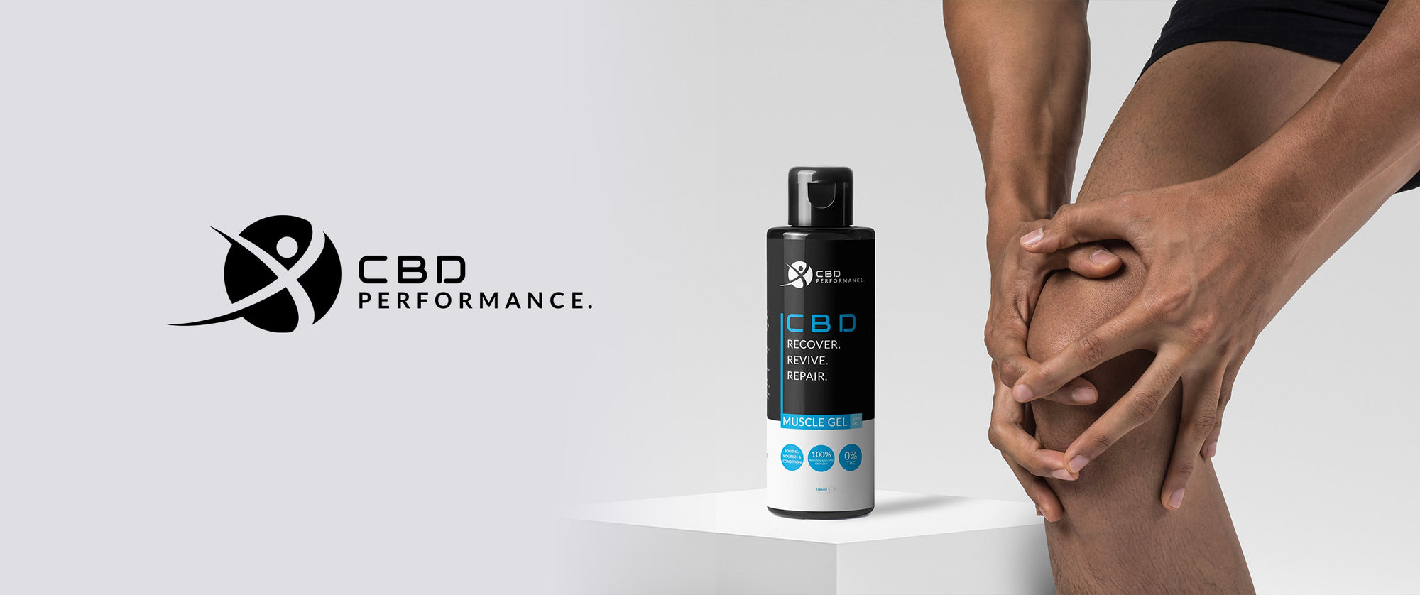 CBD muscle gel for pain and recovery