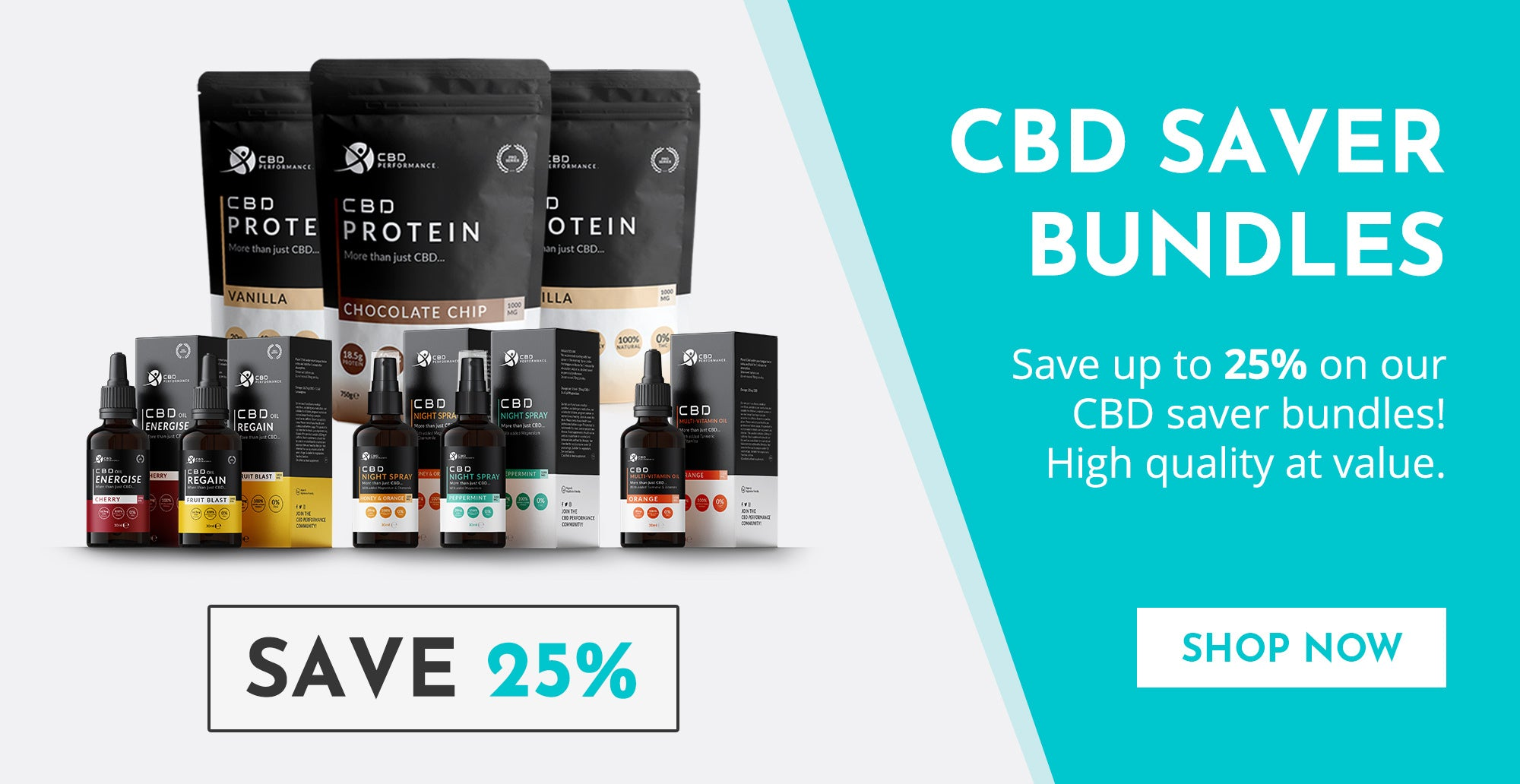 CBD product sale with discounts