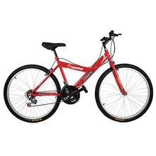 "Load image into Gallery viewer, Mountain Bike Starbike 26"" Wheel, Red"