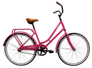 "City Bike Cruiser ACUA 26"" Wheel, Pink"