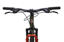 "Load image into Gallery viewer, Mountain Bike Flashing 29"" Wheel Green/Orange"