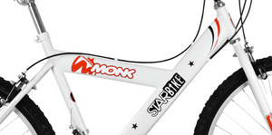 "Mountain Bike Starbike 26"" Wheel, White"