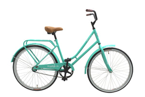 "City Bike Cruiser ACUA 26"" Wheel, Aqua"