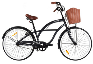 Strand Cruiser Bike Black