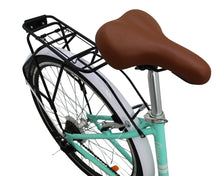 Load image into Gallery viewer, Cruiser Bike 700cc Wheel, 21 Speeds, Turquoise
