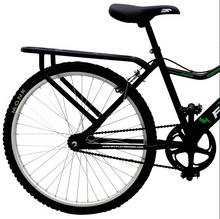 "Load image into Gallery viewer, City Bike ForceBike 26"" Wheel, Black/Green"