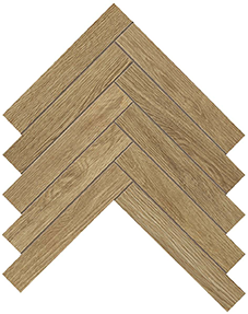 Arbor Natural Herringbone 362x412mm Matte Finish Floor Tile (0.59m2 box)