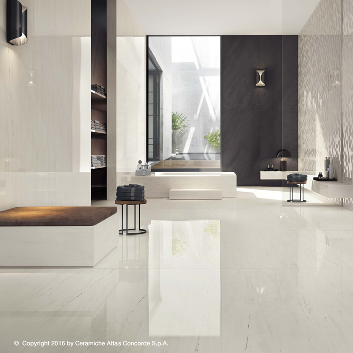 Marvel Stone Bianco Dolomite 600x600mm Matte Finish Floor Tile (1.08m2 box)