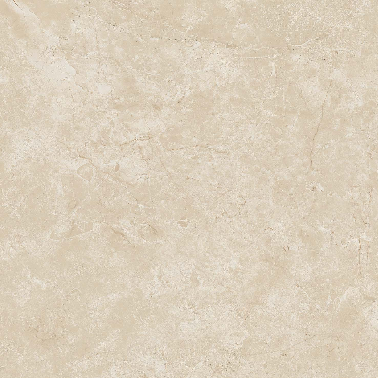 Marvel Stone Cream Prestige 600x600mm Matte Finish Floor Tile (1.08m2 box)