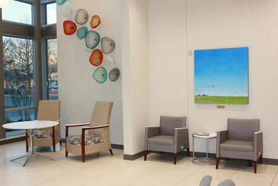 Stillwater Medical commissions six paintings for waiting room