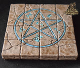 4x4 Floor Tile: Magic Circle