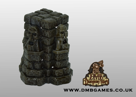 Dwarf Face Pillar: Pack of 2